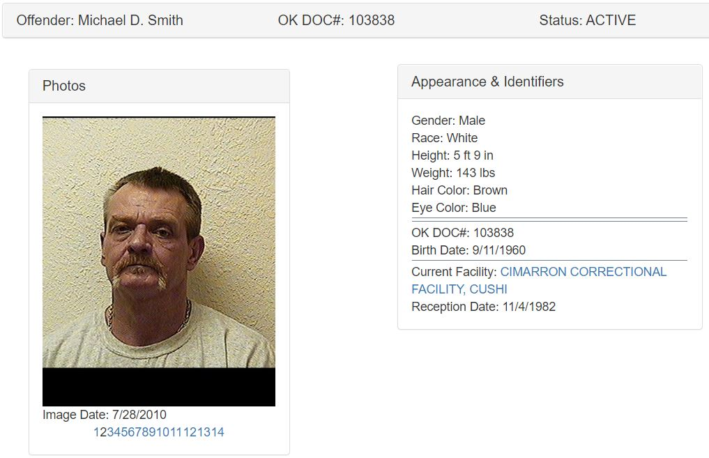 Oklahoma Inmate Search