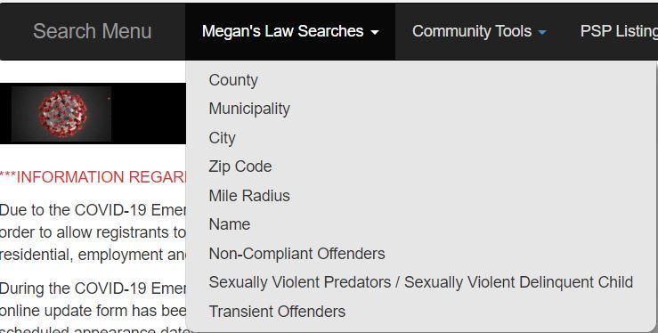 Pennsylvania Sex Offenders