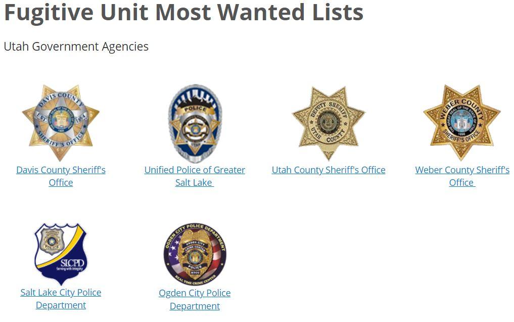 Utah Most Wanted