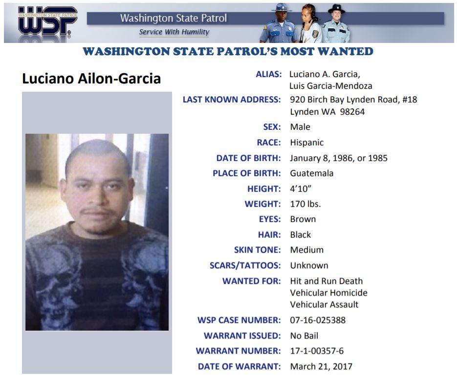 Washington State Most Wanted